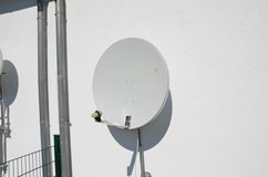Large Satellite Dish in Hohenfels, Germany