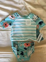 Baby girl swimsuit 0-3 months NEW in Glendale Heights, Illinois