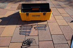 Craftsman Tool Box and Wrench and Hex Key Set in Ramstein, Germany