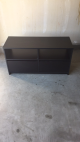 Black two drawer tv stand in Temecula, California