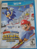 Mario and Sonic game in Travis AFB, California