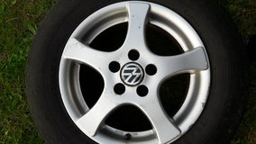 VW Golf Alloy Wheel in Lakenheath, UK