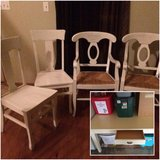 Pottery Barn Napoleon 4 chairs and table in Lockport, Illinois