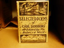 Carl Sandburg signed Selected Poems in Bolingbrook, Illinois