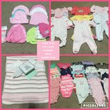 Hats, one piece, blanket and onesies in Conroe, Texas