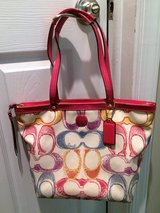 Coach F21894 Signature Scribble Print B4 / Multi Color Handbag in Philadelphia, Pennsylvania
