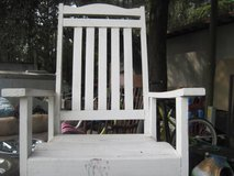 White Rocking Chair in Hinesville, Georgia