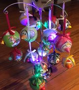 LED LIGHTED CHRISTMAS ORNAMENTS - COLLECTIBLE in Houston, Texas