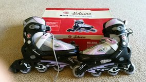 Schwinn Girls/youth Adjustable Roller Blades in Fort Lewis, Washington