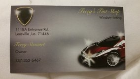 Terry's Tint Shop NOW OPEN! !!! in Fort Polk, Louisiana