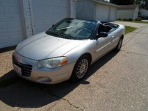 For Sale: Chrysler Sebring Convertible Two door, 2004  Call: 1-309-269-7138 in Quad Cities, Iowa
