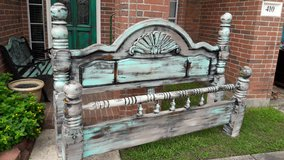 King Size Rustic Bed in Baytown, Texas