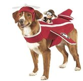 Size XL Dog Halloween Costume Airplane Bomber Pilot Brand new w/ Tags in Kingwood, Texas