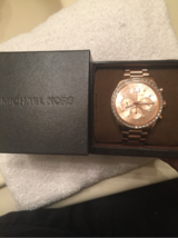 michael kors rose gold watch mens in Hinesville, Georgia