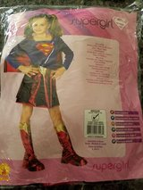 Supergirl costume size 8/10 in Plainfield, Illinois