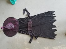 Kids witch costume in New Lenox, Illinois
