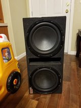 Sony subwoofers with box in Fort Irwin, California