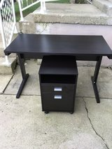 Simple Writing Desk With Matching File Cabinet in Elizabethtown, Kentucky