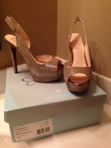 Gold Jessica Simpson Size 8 (New Never Worn) in Baytown, Texas