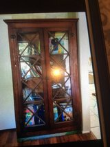 Bookcase with glass doors in Spring, Texas
