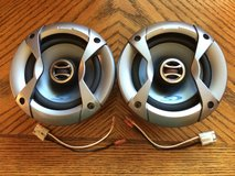 """Alpine 5 1/4"""" speakers with grills and Jeep Cherokee wiring adapters in Fort Leonard Wood, Missouri"""
