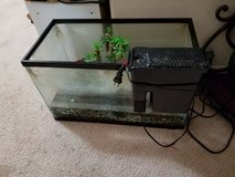 Fish tank and accessories in Conroe, Texas