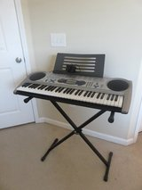 Casio keyboard with stand - excellent condition in Mobile, Alabama