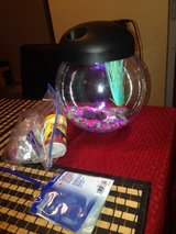 Fishbowl round and supplies in Houston, Texas