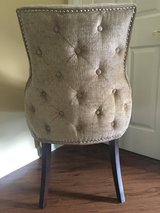 Beautiful studded chairs in Aiken, South Carolina