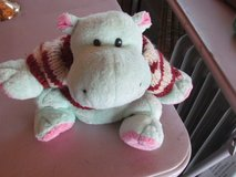 Hippo With Sweater Stuffed Animal in New Lenox, Illinois