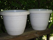 "plastic planters 11.5""h x 14"" in Glendale Heights, Illinois"