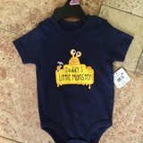 New Daddys Lil Monster Onsie size 6-9 m in Naperville, Illinois