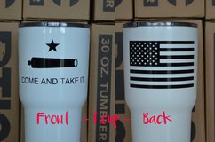 Custom Powder Coated RTIC cups - Southern Four in Katy, Texas