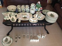 Christmas Tree Spode collection in Camp Pendleton, California