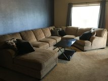 Katisha Platinum 5 piece sectional in Fort Sam Houston, Texas