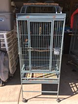 Large parrot cage  powder coated in Travis AFB, California