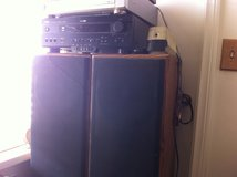 Yamaha Natural Sound AV Stereo Receiver with 24ft. tall Pioneer Speakers in 29 Palms, California