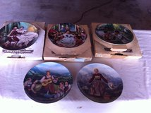 Collectors Plates - The King and I and Sound of Music in 29 Palms, California