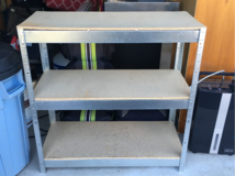 Shelving unit for Garage or Basement in Naperville, Illinois
