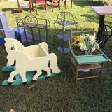 Vintage horse rocker and potty chair in Elgin, Illinois