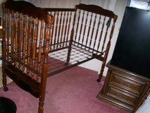 BABY CRIB w/simmons Beautyrest mattress in Fort Eustis, Virginia