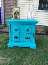 Refinished side table! in Lawton, Oklahoma
