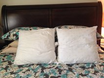 Square pillows for shams in Okinawa, Japan