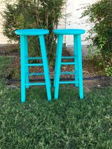 Refinished barstools in Lawton, Oklahoma