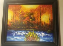 Framed Canvas Painting in Oswego, Illinois