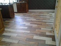 Ceramic Tile, Porcelain Tile, Tumbled Stone, etc. and Laminate Installations in Warner Robins, Georgia