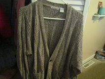Women's Claiborne Brown & White Sweater in Naperville, Illinois