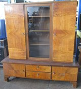 Ealry 1900s Antique Bookcase with Glass Door in Ramstein, Germany