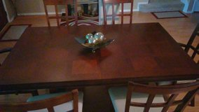 *****EXCELLENT CONDITION SOLID WOOD TABLE WITH 6 CHAIRS ***** in Houston, Texas