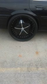 24 inch rims must go asap in Fort Campbell, Kentucky